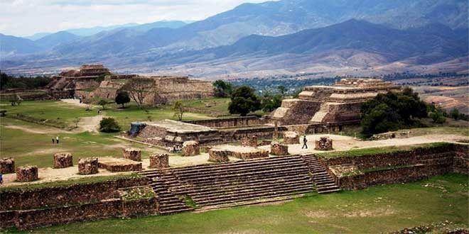 Monte Alban ruinas zapotecas