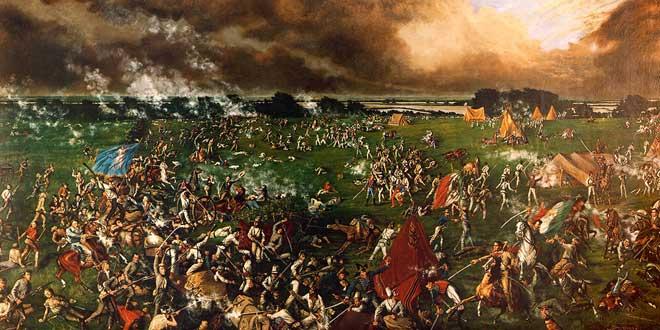 Batalla de San Jacinto en 1895