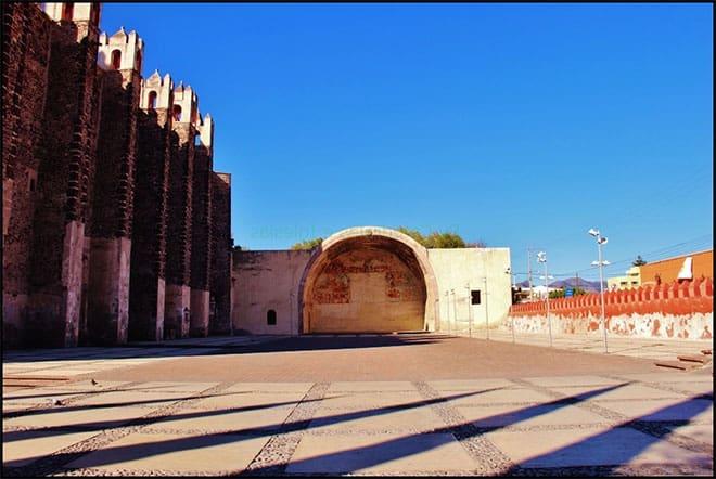 Capilla abierta de Actopan, Hidalgo