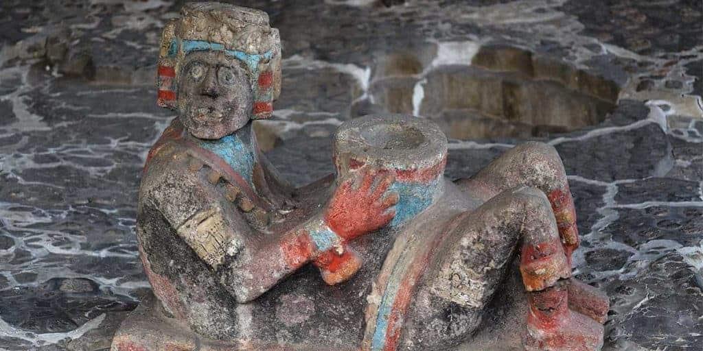Chac mool en la cultura Tolteca