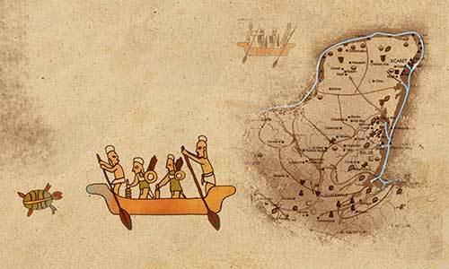 El comercio en la Cultura Maya