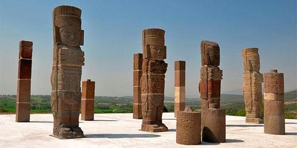 Los cuatro guerreros de Tollan, Piramide B