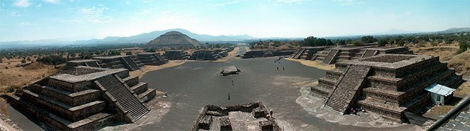 cultura teotihuacana avenida muertos