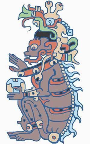 Dios Ah Puch de la Cultura Maya