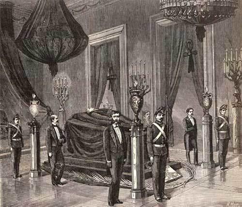 Funeral de Benito Juárez