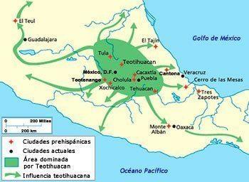 influencia cultura teotihuacana
