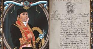 Jose María Morales, documento abolición de la esclavitud